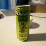 アルコール1%のお酒『バタフライ ゆけ、ゆけ!ジンジャー』を飲んでもイケイケになるわけではない