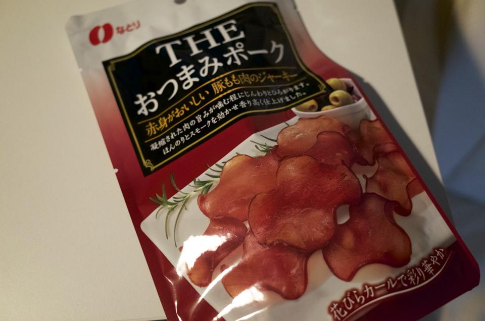 THEおつまみポーク 豚のジャーキー