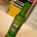 【ハイネケン】緑でおしゃれな瓶に入っている濃厚スッキリなビールがいい感じ!