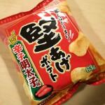 【辛子明太子味】磯の香りがプンプンする堅あげポテト