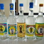 石垣島の泡盛5種類飲み比べセットを注文してみた!