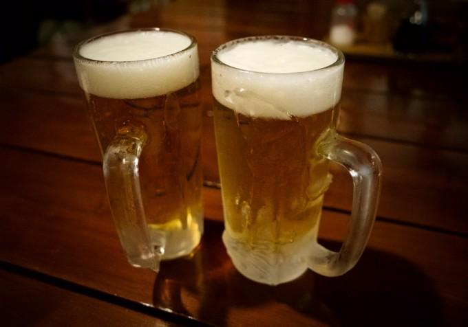 生ビール中ジョッキ