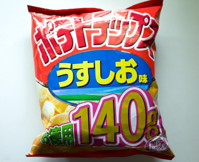 コイケヤポテトチップスうすしお味