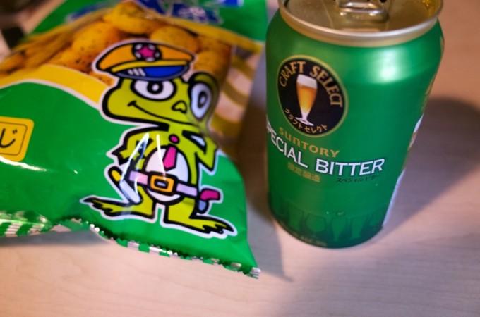 キャベツ太郎とビール