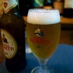 贅沢だよね!「モレッティビール」を本格パスタやピッツァと一緒にいただく!!